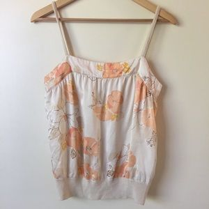 Banana Republic Floral Tank Top - Size Small